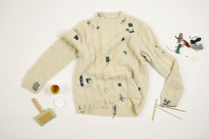Textile Toolbox: A Jumper to Lend, a Jumper to Mend, image 1