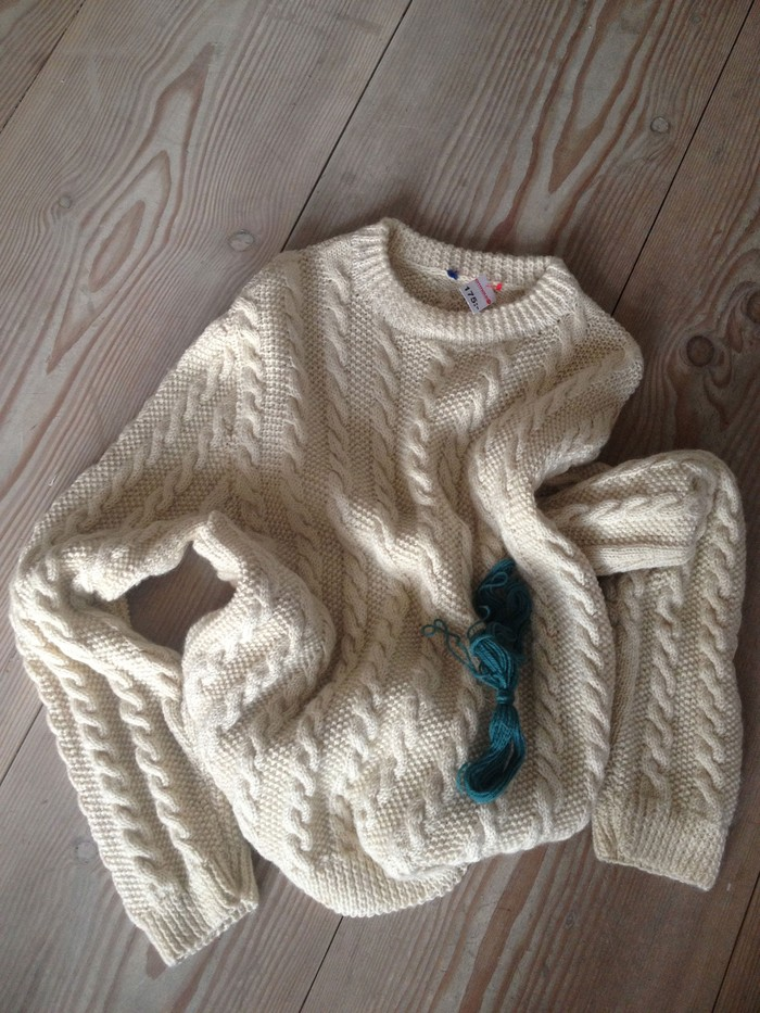 Textile Toolbox: A Jumper to Lend, a Jumper to Mend, image 2