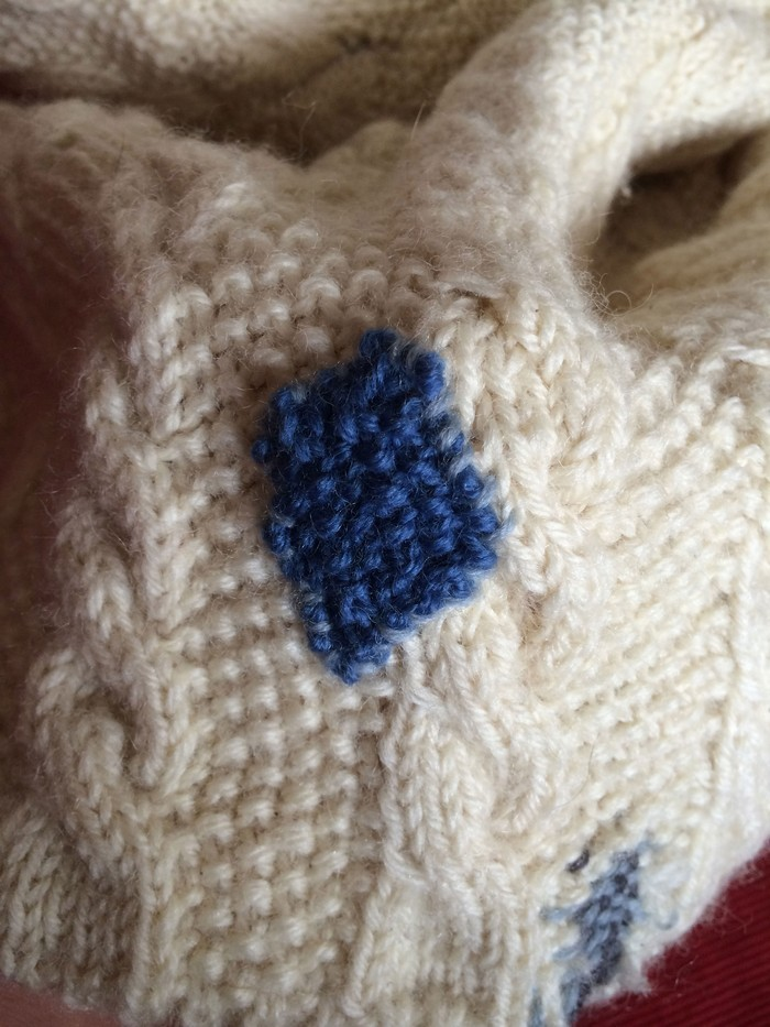 Textile Toolbox: A Jumper to Lend, a Jumper to Mend, image 6
