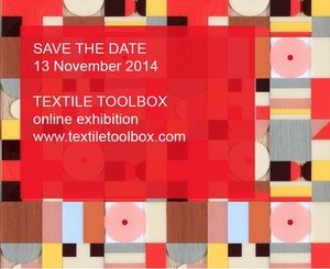 Save the Date – TEXTILE TOOLBOX online exhibition